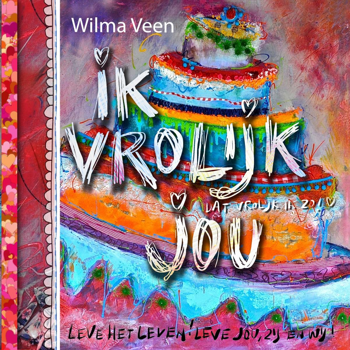 2014!  Nieuw boek van Wilma... volop in de maak:)