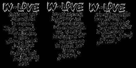 WL website tekst getekend WL schoonheid:inspireert:juweeltjes